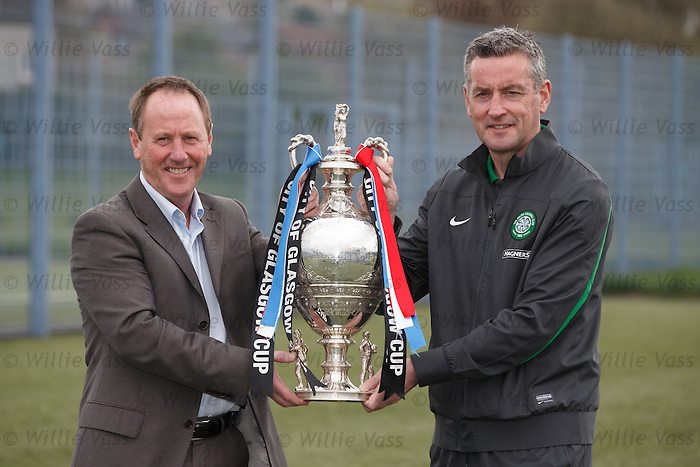 Glasgow cup final preview: Rangers and Celtic coaches Jim Sinclair and Tommy McIntyre
