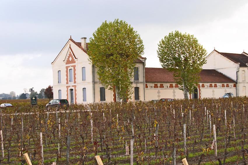 Vineyard & winery. Chateau Grand Barrail Lamarzelle Figeac. Saint Emilion, Bordeaux, France