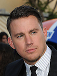 Channing Tatum arriving at 22 Jump Street Premiere held at The Regency Village Theatre Los Angeles, CA. June 10, 2014.