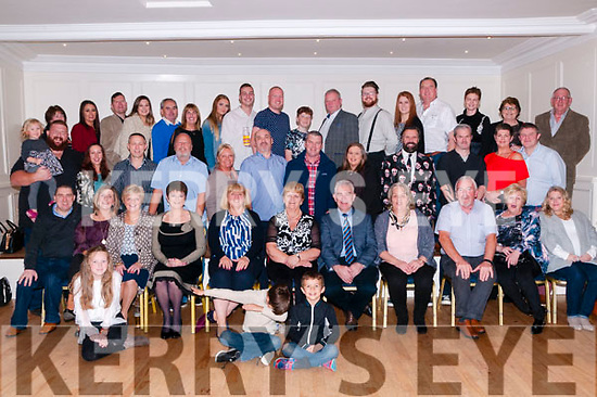 Flavin Clan Gathering: Members of the extended Flavin family from Ballybunion & Limerick  pictured at the Listowel Arms hotel on Saturday nigh last.