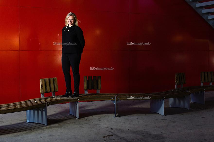 Oslo, Norge, 16.01.2015. Kjersti Stenseng i Arbeiderpartiet. Foto: Christopher Olssøn.