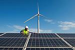 Centrale Photovoltaïque de Bollène (84) - CNR / GDF Suez