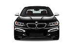 Car photography straight front view of a 2016 BMW 2 Series M235i 2 Door Coupe Front View