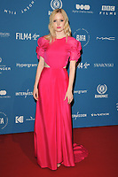 Ellie Bamber at the British Independent Film Awards (BIFA) 2018, Old Billingsgate Market, Lower Thames Street, London, England, UK, on Sunday 02 December 2018.<br /> CAP/CAN<br /> &copy;CAN/Capital Pictures