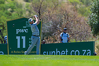 Richard Sterne (RSA) during the 2nd round at the Nedbank Golf Challenge hosted by Gary Player,  Gary Player country Club, Sun City, Rustenburg, South Africa. 15/11/2019 <br /> Picture: Golffile | Tyrone Winfield<br /> <br /> <br /> All photo usage must carry mandatory copyright credit (© Golffile | Tyrone Winfield)