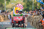 Team UM柑仔店  in action during the Red Bull Soapbox Race 2017 Taipei at Multipurpose Gymnasium National Taiwan Sport University on 01 October 2017, in Taipei, Taiwan. Photo by Victor Fraile / Power Sport Images