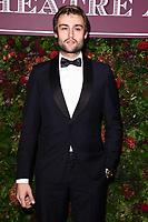 Douglas Booth<br /> arriving for the Evening Standard Theatre Awards 2019, London.<br /> <br /> ©Ash Knotek  D3539 24/11/2019