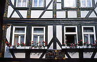 Butzbach: Fachwerk Facade.