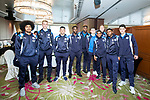 Players arrive at the Hong Kong International Airport for the HKFC Citi Soccer Sevens 2017 on 24 May 2017 in Hong Kong, China. Photo by King Chung Fung / Power Sport Images