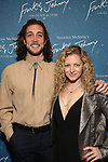 """Conor Ryan and Lauren Molina attends The """"Frankie and Johnny in the Clair de Lune"""" - Opening Night Arrivals at the Broadhurst Theatre on May 29, 2019  in New York City."""