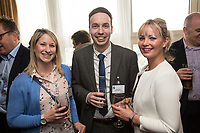 From Left are Carrie Stack of APT Legal, Adam Cotterill and Christina Yardley of of Rothera Sharp Solicitors