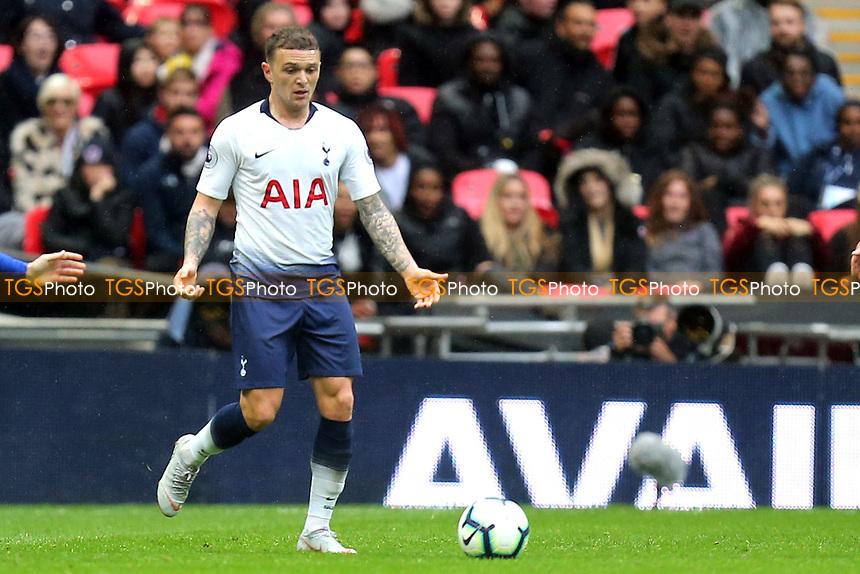Kieran Trippier of Tottenham Hotspur during Tottenham Hotspur vs Cardiff City, Premier League Football at Wembley Stadium on 6th October 2018