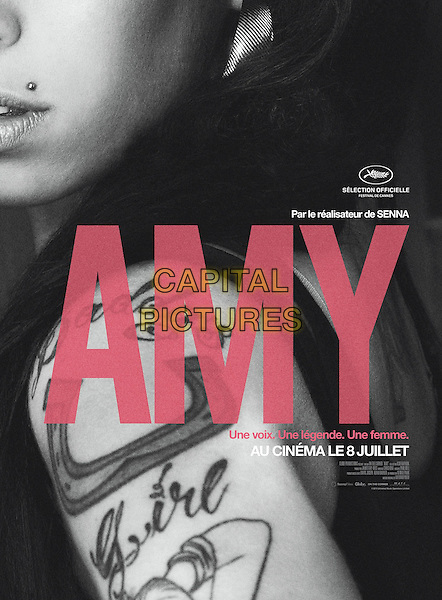 POSTER ART<br /> in Amy (2015) <br /> *Filmstill - Editorial Use Only*<br /> CAP/NFS<br /> Image supplied by Capital Pictures
