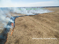63863-02820 Prescribed Burn by IDNR Prairie Ridge State Natural Area Marion Co. IL
