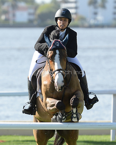 PALM BEACH FL - JANUARY 4:  Paige Johnson competes during The Trump Invitational Grand Prix at Club Mar-a-Lago on January 4, 2015 in Miami, FL Florida. Credit: mpi04/MediaPunch