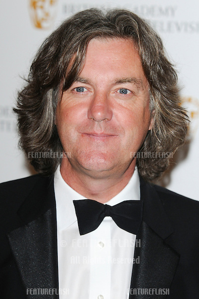 TV Presenter James May arrives for the BAFTA Craft Awards 2010 at the London Hilton, Park Lane, London. 23/05/2010  Picture by Steve Vas/Featureflash