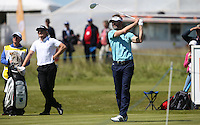 Raphael Jacquelin (FRA) drives from the 9th tee during Round Two of the 2015 Nordea Masters at the PGA Sweden National, Bara, Malmo, Sweden. 05/06/2015. Picture David Lloyd | www.golffile.ie