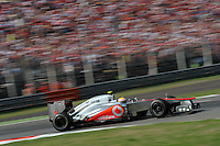 BRITISH LEWIS HAMILTON ON MCLAREN MERCEDES MP4-27 .Monza 9/9/2012 .Formula 1.Foto Insidefoto / Bernard Asset / Panoramic .Italy Only