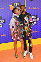 Chris Paul &  Jada Crawley at the Nickelodeon Kids' Choice Sports Awards 2018 at Barker Hangar, Santa Monica, USA 19 July 2018<br /> Picture: Paul Smith/Featureflash/SilverHub 0208 004 5359 sales@silverhubmedia.com