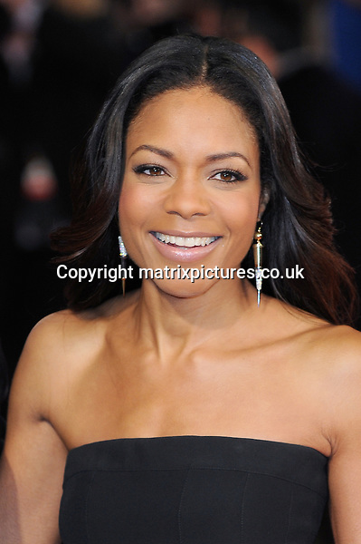 NON EXCLUSIVE PICTURE: PAUL TREADWAY / MATRIXPICTURES.CO.UK<br /> PLEASE CREDIT ALL USES<br /> <br /> WORLD RIGHTS<br /> <br /> British actress Naomie Harris attends the Royal film performance of &quot;Mandela: Long Walk to Freedom&quot; at the Odeon Theatre at Leicester Square in London, England.<br /> <br /> DECEMBER 5th 2013<br /> <br /> REF: PTY 137771