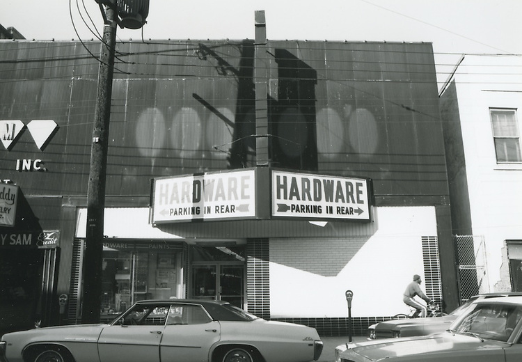 UNDATED  1980?..Church Street ?.Hardware Store..NEG#.NRHA#..