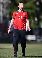 Steve Borthwick (Forwards Coach) of England during the England Rugby training session at  Jonsson Kings Park Stadium,Durban.South Africa. 05,06,2018 Photo by Steve Haag)