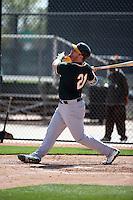 Stephen Vogt - Oakland Athletics 2016 spring training (Bill Mitchell)