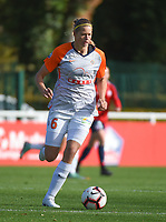 20181027 - CAMPHIN-EN-PEVELE , FRANCE : Montpellier's Anouk Dekker pictured during the 8 th competition game between the women teams of Lille OSC and Montpellier Herault Sporting Club in the 2018-2019 season of the first Division - Ligue 1 at Domaine de Luchin , Saturday 27th Octobre 2018 ,  PHOTO Dirk Vuylsteke | Sportpix.Be