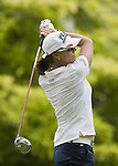 SINGAPORE - MARCH 05:  Helen Alfredsson of Sweden plays her tee shot on the par four 6th hole during the first round of HSBC Women's Champions at the Tanah Merah Country Club on March 5, 2009 in Singapore. Photo by Victor Fraile / The Power of Sport Images