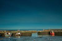 Port Seton Harbour, Port Seton, East Lothian<br /> <br /> Copyright www.scottishhorizons.co.uk/Keith Fergus 2012 All Rights Reserved