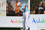 Richard McEvoy (ENG) tees off on the 16th tee during Day 3 Saturday of the Open de Andalucia de Golf at Parador Golf Club Malaga 26th March 2011. (Photo Eoin Clarke/Golffile 2011)