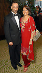 Dr. Pummy Chadha and Dr. Naiyer Chadha at the Memorial Hermann Gala at the Hilton Americas Houston Saturday May 09,2009.(Dave Rossman/For the Chronicle)