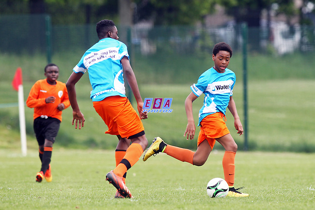 LAMBETH TIGERS v ENERGISE<br /> LONDON COUNTY SATURDAY YOUTH FOOTBALL LEAGUE U14 CUP FINAL SATURDAY 23RD MAY 2015 LONG LANE FC