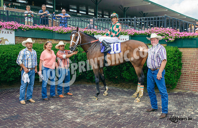 Ray Knows winning at Delaware Park on 7/1/15
