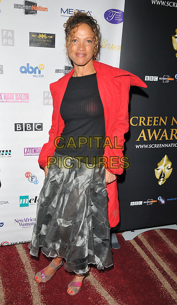 Indra Ov&eacute; at the 12th Annual Screen Nation Film &amp; Television Awards 2017, Park Plaza Riverbank Hotel, Albert Embankment, London, England, UK, on Sunday 07 May 2017.<br /> CAP/CAN<br /> &copy;CAN/Capital Pictures