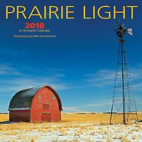 PRODUCT: Calendar<br /> TITLE: Prairie Light Mini 2018<br /> CLIENT: Wyman Publications / Browntrout Canada