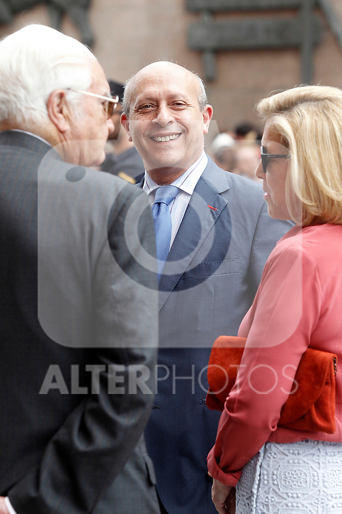 The Minister of Education and Culture of Spain Jose Ignacio Wert  before the bullfight of beneficence. June 3 ,2012. (ALTERPHOTOS/Acero)
