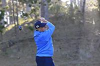 Jimmy Dunne III tees off the 2nd tee during Thursday's Round 1 of the 2018 AT&amp;T Pebble Beach Pro-Am, held over 3 courses Pebble Beach, Spyglass Hill and Monterey, California, USA. 8th February 2018.<br /> Picture: Eoin Clarke | Golffile<br /> <br /> <br /> All photos usage must carry mandatory copyright credit (&copy; Golffile | Eoin Clarke)