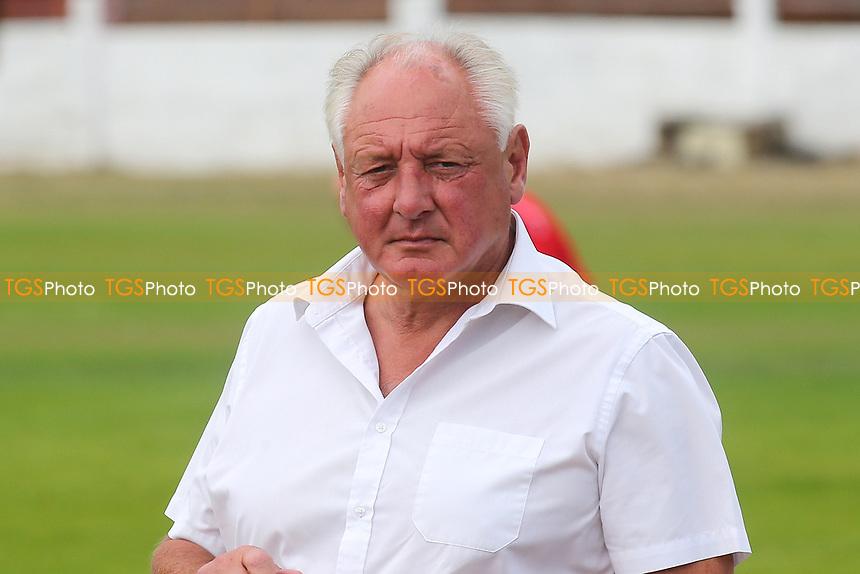 Folkestone Invicta Manager, Neil Cugley during Ramsgate vs Folkestone Invicta, Friendly Match Football at Southwood Stadium on 1st August 2020