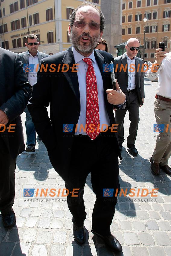 Antonio Ingroia<br /> Roma 09/07/2013 Personaggi a Piazza Montecitorio durante la relazione annuale dell'Autorit&agrave; per le garanzie nelle comunicazioni.<br /> Photo Samantha Zucchi Insidefoto
