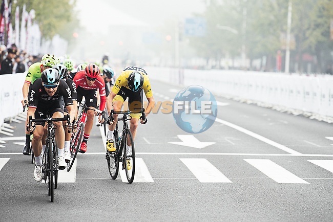 Action from the 2017 Tour de France Skoda Shanghai Criterium, Shanghai, China. 29th October 2017.<br /> Picture: ASO/Pauline Ballet | Cyclefile<br /> <br /> <br /> All photos usage must carry mandatory copyright credit (&copy; Cyclefile | ASO/Pauline Ballet)