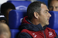 Swansea City manager Paul Clement during the Carabao Cup Third Round match between Reading and Swansea City at Madejski Stadium, Reading, England, UK. Tuesday 19 September 2017
