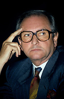 UNDATED FILE PHOTO -Andre Bureau, Head of CRTC<br /> <br /> <br /> Photo : Pierre Roussel - Agence Quebec Presse