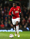 Paul Pogba of Manchester United during the UEFA Europa League match at Old Trafford, Manchester. Picture date: November 24th 2016. Pic Matt McNulty/Sportimage