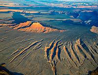 Butte on San Juan River Rim, Bears Ears National Monument, Utah