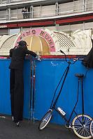 Europe/France/06/Alpes-Maritimes/Nice: Défilé du Carnaval de Nice devant le Casino Ruhl