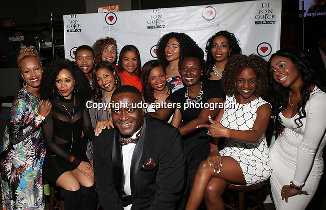 DJ Jon Quick's 2016 Beauty & the Beat: Heroines of Excellence Awards Honoring  KD Wilson - Veronica Dunlap Esq. - Sharee Stephens - Anita Kopacz - Raqiyah Mays - Niki Darling<br />