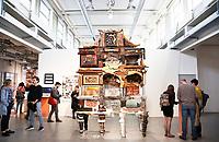 Nederland  Eindhoven 2017 . DDW. Dutch Design Week.  Expositie in de Witte Dame.  Graduation Show. Kabinet van Kostas Lambridis.  Foto Berlinda van Dam / Hollandse Hoogte