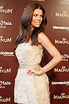 Colombian actress Juana Acosta during the display accessories Dipping Chocolate Bar: PARTY BY MAGNUM. May 30, 2015. (ALTERPHOTOS/Acero)