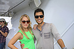 General Hospital Kristen Alderson poses with costar Erik Valdez at SoapFest's Celebrity Weekend - Cruisin' and Schmoozin' on the Marco Island Princess - mix and mingle and watching dolphins - autographs, photos, live auction raising money for kids on November 11, 2012 Marco Island, Florida. (Photo by Sue Coflin/Max Photos)